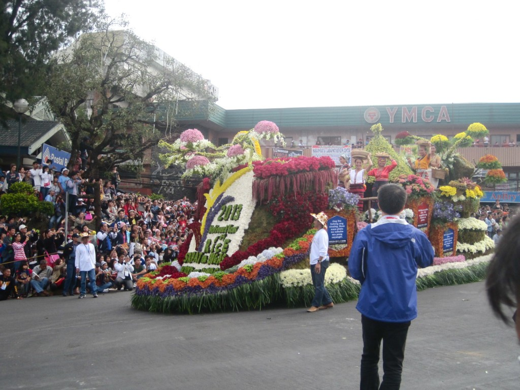 flower float parade panagbenga festival