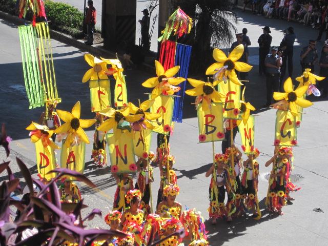 panagbenga festival street dancing parade baguio