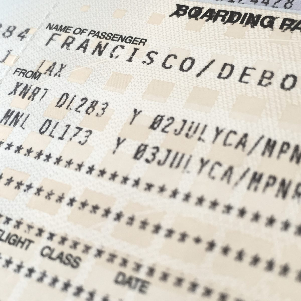 peace corp volunteer plane ticket