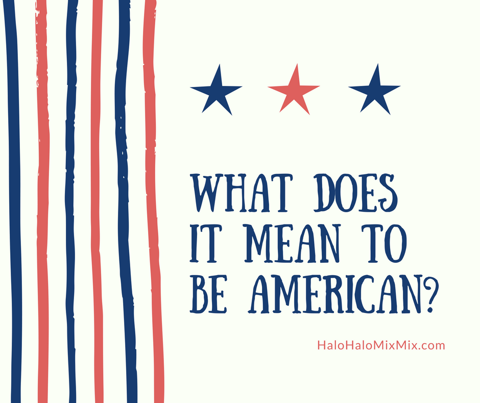 a paper on what does it mean to be american Real americans speak english america is a christian nation we can't restore our civilization with somebody else's babies when used to define what it means to be american, statements like these exclude and marginalize immigrants, people of color, people of minority religions and others.