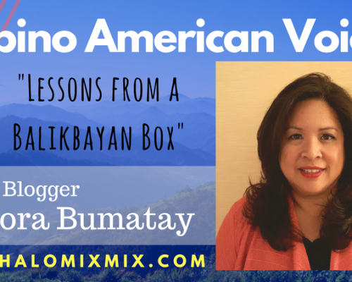 filipino american voices - lessons from a balikbayan box