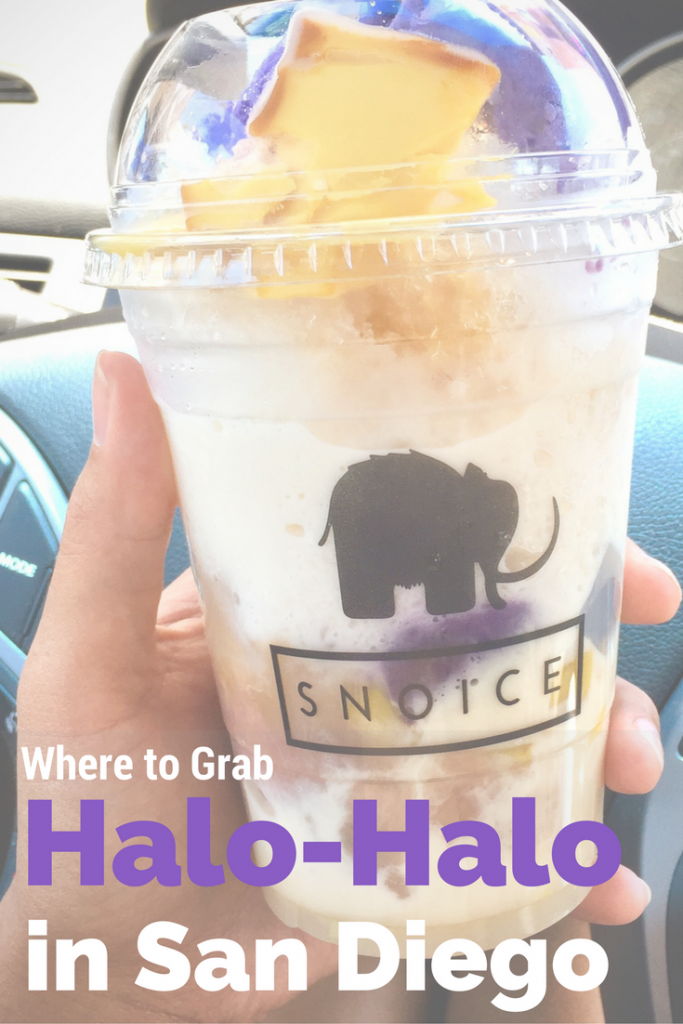 Where to Grab Halo-Halo in San Diego