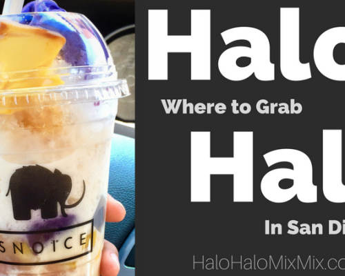 Where to Grab Halo-Halo in San Diego - Snoice