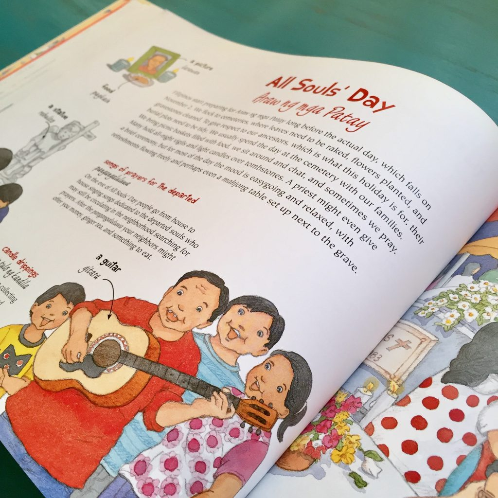 filipino celebrations childrens book