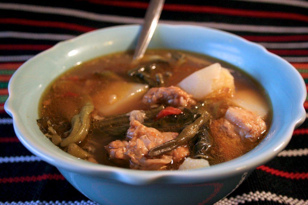 Filipino Fall Cuisine - Sinigang Soup