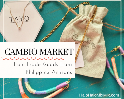 Cambio Market - Fair Trade Goods from Philippine Artisans