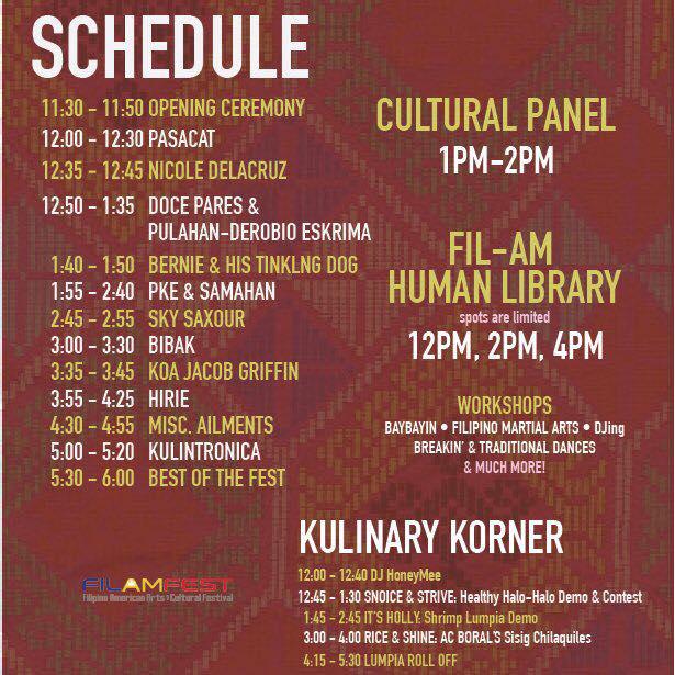filamfest schedule
