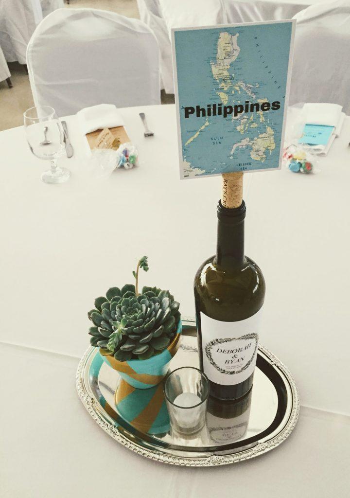 Filipino wedding decor