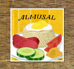 almusal illustration - Filipino American Artists and Illustrators