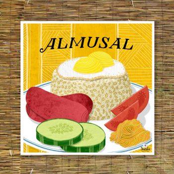 almusal illustration - Filipino American Artists and Illustrators