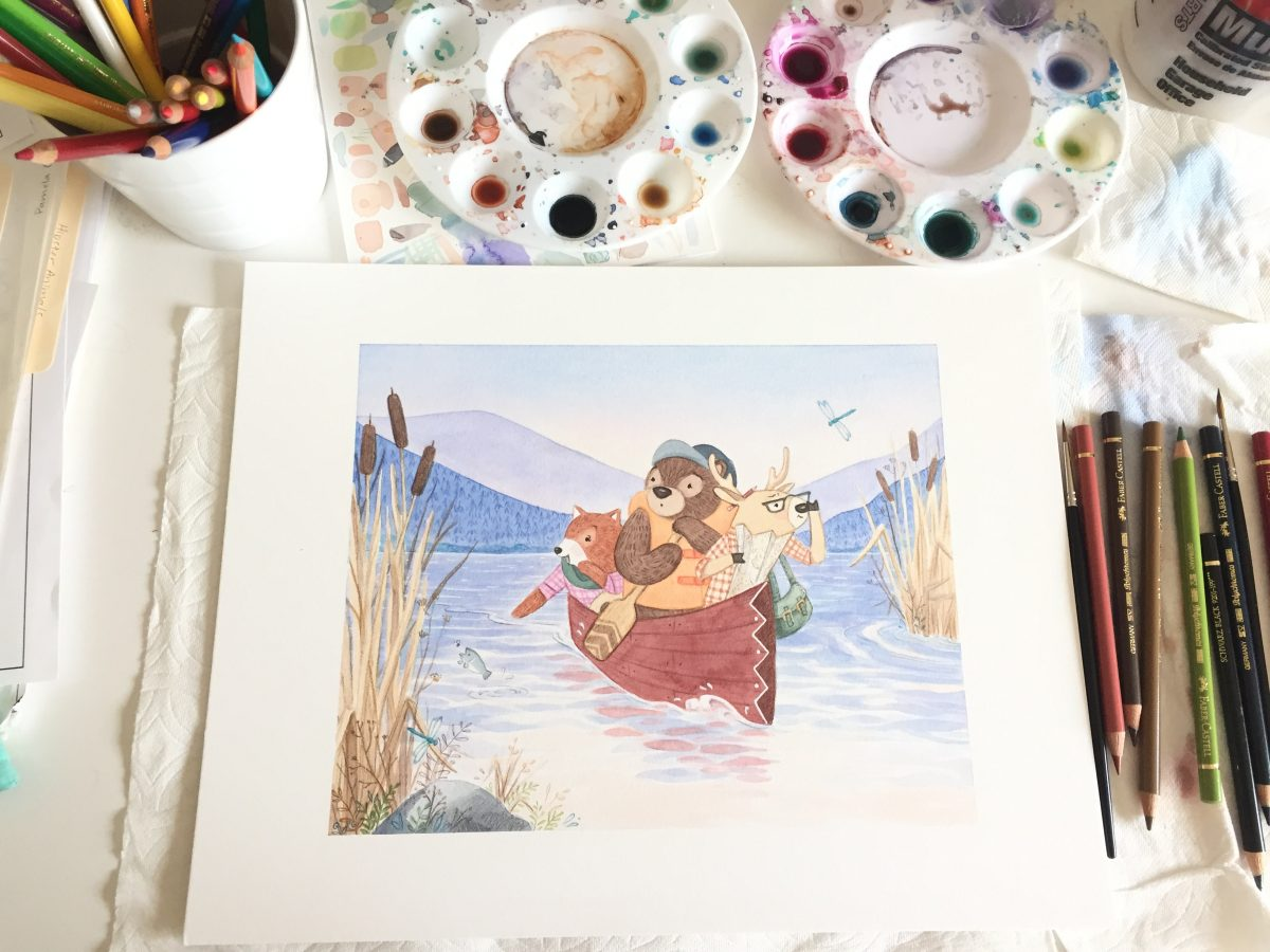 Pamela Goodman Art Illustration - Filipino American Artists