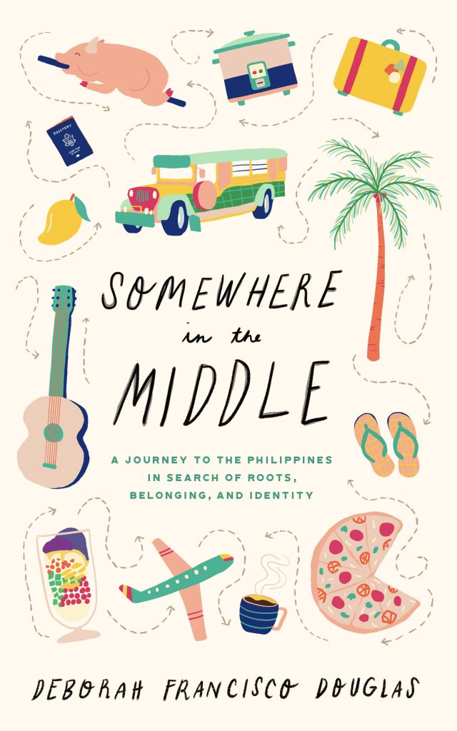 Somewhere in the Middle Philippines memoir cover